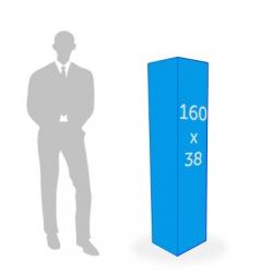 Totem 3 faces 38 x 160 cm