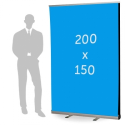 Roll up double format 150 x 200 cm