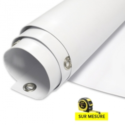Bache PVC - 500gr - PRO - semi-mate - sur mesure