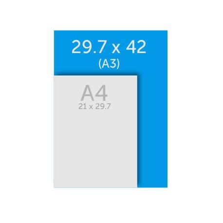 Bloc papier A3 (42 x 29.7 cm)