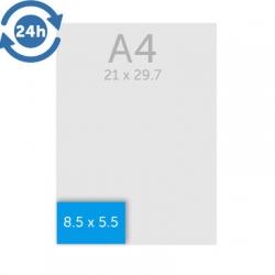 Carte de visite 8.5 x 5.5 cm (standard) 350g EXPRESS