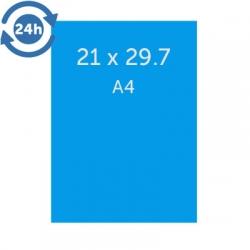 Flyers A4 (21x29.7 cm) - EXPRESS 24H