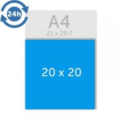 Flyers 20 x 20 cm - EXPRESS 24H
