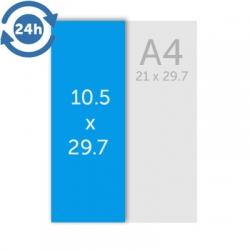 Flyers 10.5 x 29.7 cm - EXPRESS 24H
