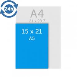Flyers 14.8 x 21 cm (A5) - EXPRESS 24H