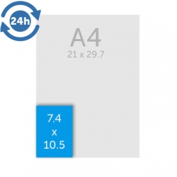 Flyers (A7) 7.4 x 10.5 cm - EXPRESS 24H