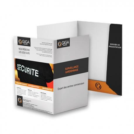 Notre selection 250 pochettes à rabats pour document A4