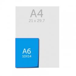 Liasses A6 (10 x 15 cm) autocopiantes 2 ou 3 feuillets