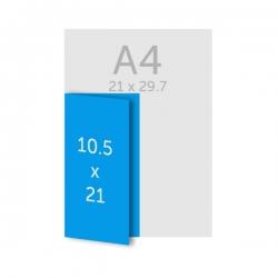 Dépliant 10x21 cm DL