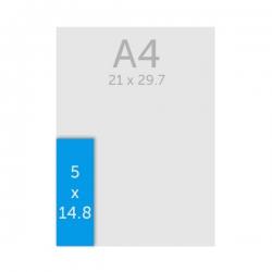 Flyer A7 long (5.2 x 14.8 cm)