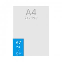 Flyer A7 (7.4 x 10.5 cm)