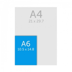 Flyer A6 (10.5 x 14.8 cm)