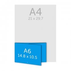 Dépliant A6
