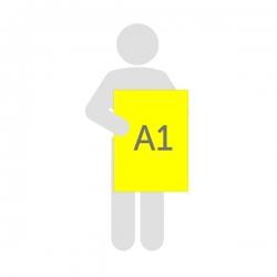 Affiche fluo A1 (59.4 x 84.1 cm)
