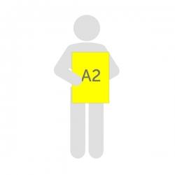 Affiche fluo A2 (42 X 59.4 cm)
