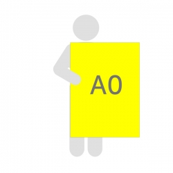 Affiche fluo A0 (84.1 x 118.9)