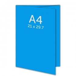 Dépliant 62.8 x 29.7 cm ouvert A4 (21 x 29.7 cm fermé) pelliculage
