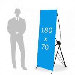 X Banner  - 180 x 70 cm