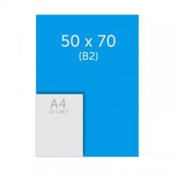 Poster 50 x 70 cm - 235g satin