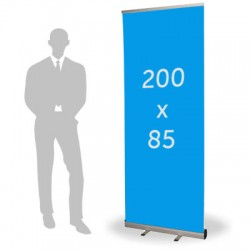 Roll up format 85 x 200 cm