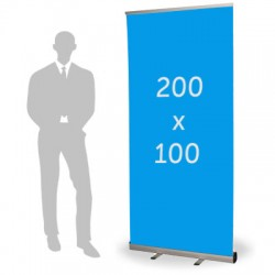 Roll up format 100 x 200 cm