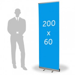 Roll up format 60 x 200 cm