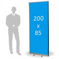 Roll up double format 85 x 200 cm