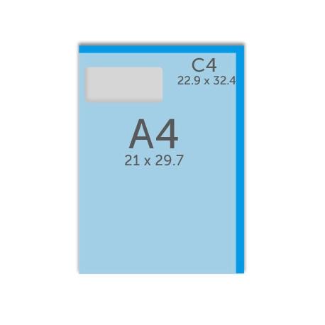 Enveloppe C4 - 22,9 x 32,4 cm