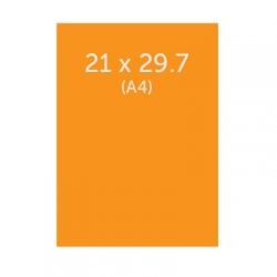 Flyer 21 x 29.7 cm (A4) cm, 350g, vernis selectif